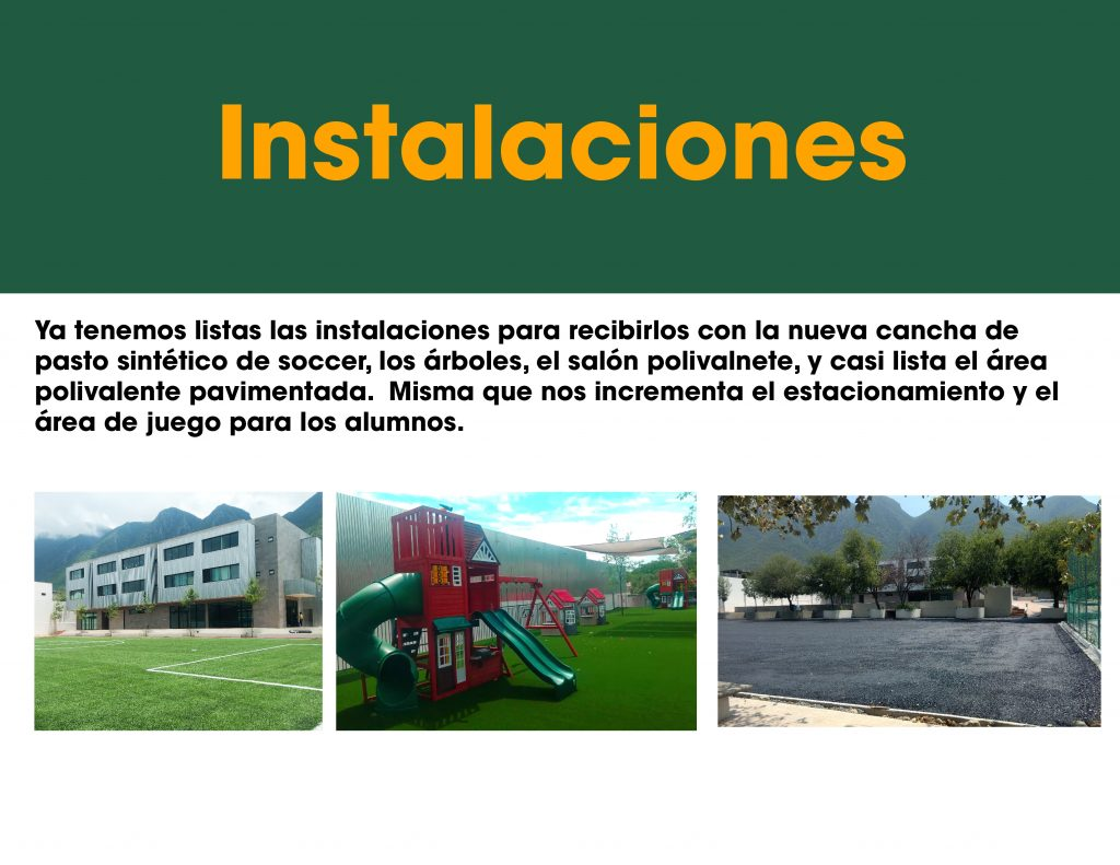 Nuevas Instalaciones 2020